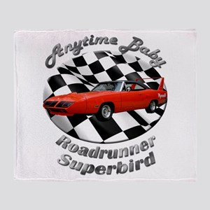 Plymouth Superbird Throw Blanket