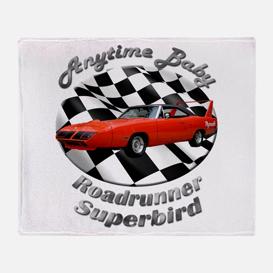Plymouth Superbird Throw Blanket