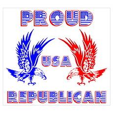 Proud USA Republican Poster