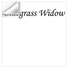 Bluegrass Widow Wall Decal