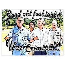 GOF War Criminals Poster