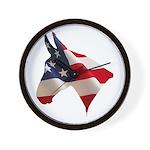 Proud American Wall Clock
