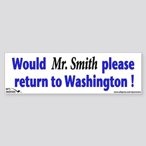 Would Mr. Smith Please Return Sticker (Bumper)