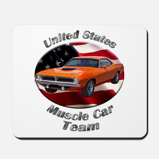 Plymouth Barracuda Mousepad