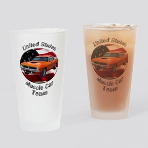Plymouth Barracuda Drinking Glass