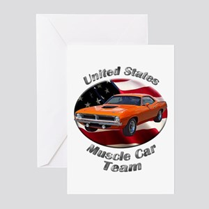 Plymouth Barracuda Greeting Cards (Pk of 20)
