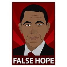 Obama False Hope Poster