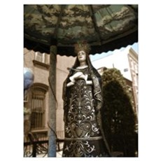 Carroll Gardens Mary 9x12 Print Poster