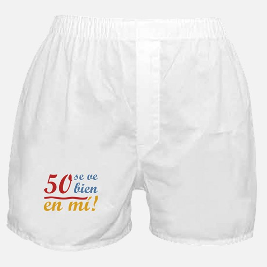 50th Birthday Looks Good Boxer Shorts