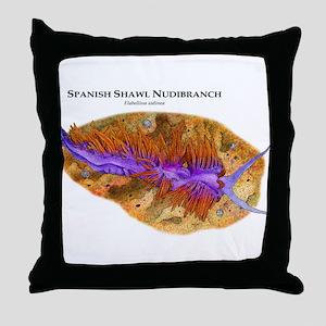 Spicebush Swallowtail Caterpillar Throw Pillow