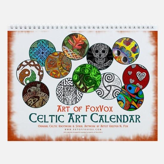Celtic Art Designs Wall Calendar