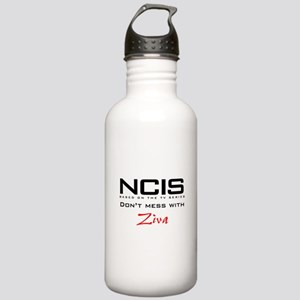 NCIS Don't Mess with Ziva Stainless Water Bottle 1