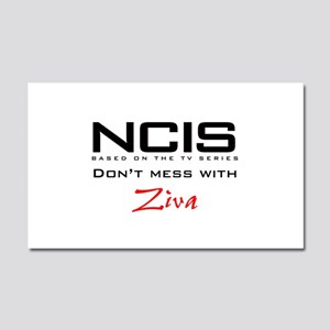 NCIS Don't Mess with Ziva Car Magnet 20 x 12