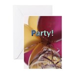 Balloons Party Invitations (Pk of 10)