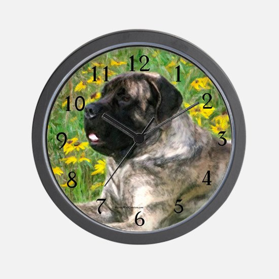 Brindle 2 Wall Clock