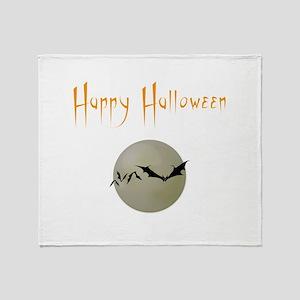 Happy Halloween Throw Blanket