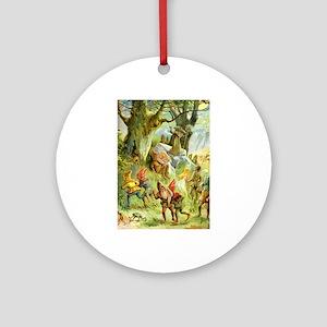 Fairy Prince and Princess Ornament (Round)