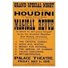 Houdini Magical Revue Poster