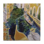 """Gondolier of Venice"" Tile Coaster"