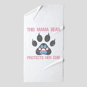 Transgender Pride For Moms Beach Towel