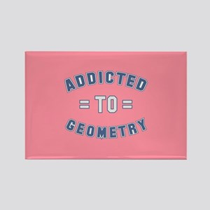 Addicted to Geometry Rectangle Magnet