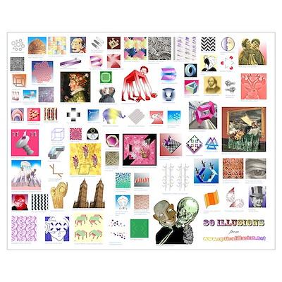 80 illusions Poster