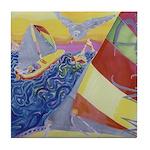 """""""Sailing"""" Tile Coaster"""