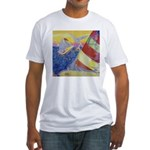 """""""Sailing"""" Fitted T-Shirt"""