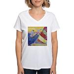 """Sailing"" Women's V-Neck T-Shirt"