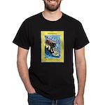 """""""Surfing Dog"""" Dark T-Shirt"""