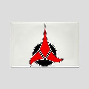 Klingon Emblem Rectangle Magnet