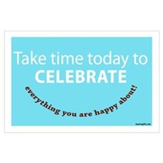 Celebrate Happiness Poster