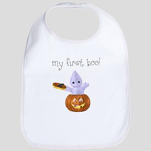 My First Boo Halloween Bib