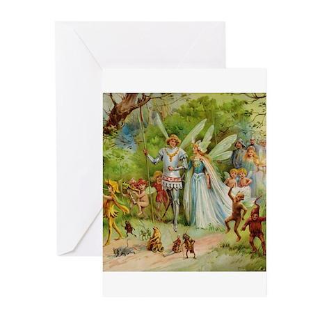 Fairy Prince and Princess Greeting Cards (Pk of 10
