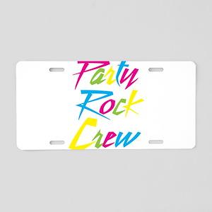 Party Rock Aluminum License Plate