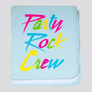 Party Rock baby blanket