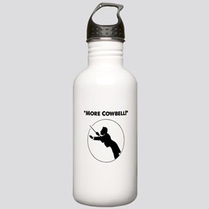 """Mahler """"More Cowbell!"""" Stainless Water Bottle 1.0L"""