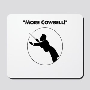 "Mahler ""More Cowbell!"" Mousepad"