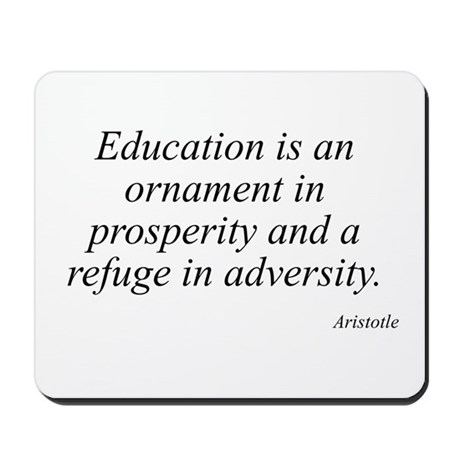 Aristotle quote 22 Mousepad