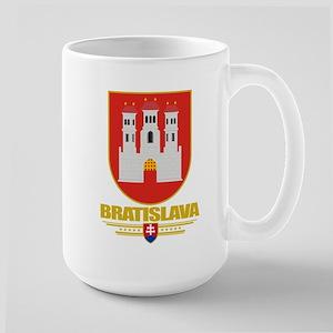 Bratislava COA Large Mug