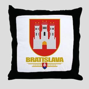 Bratislava COA Throw Pillow
