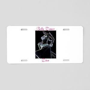 Belly Dance Diva Aluminum License Plate