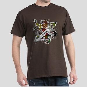 Buchanan Tartan Lion Dark T-Shirt