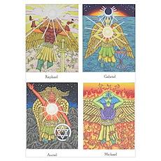 Four Archangels Poster