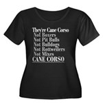 They're Cane Corso Women's Plus Size Scoop Neck Da