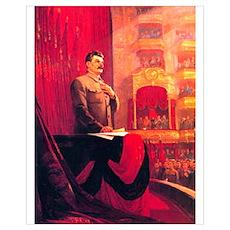 Joesph Stalin Soviet Union Poster