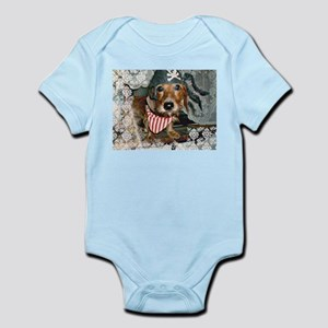 Puppy in Pirate Costume Infant Bodysuit