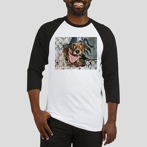 Puppy in Pirate Costume Baseball Jersey