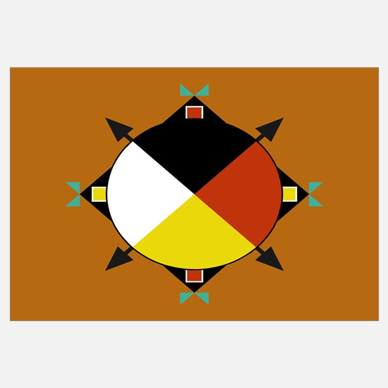 Cherokee Four Directions Flag