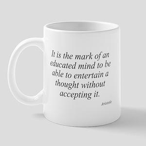 Aristotle quote 46 Mug